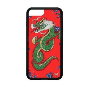 Red Dragon Wildflower Case iPhone 6+/7+/8+